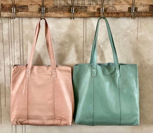 Belford - Large leather soft tote