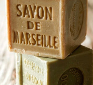 SAVON De Marseille: OLIVE antique soap Cube