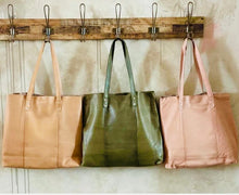 Load image into Gallery viewer, Belford - Large leather soft tote
