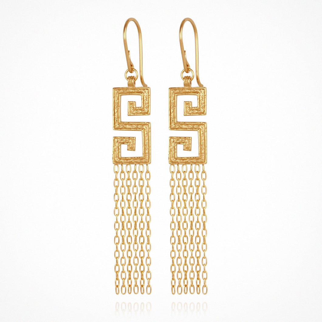 TEMPLE OF THE SUN- Delphi EARRINGS