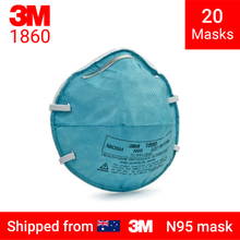 Load image into Gallery viewer, 3M 1860 respirator -  20 N95 mask