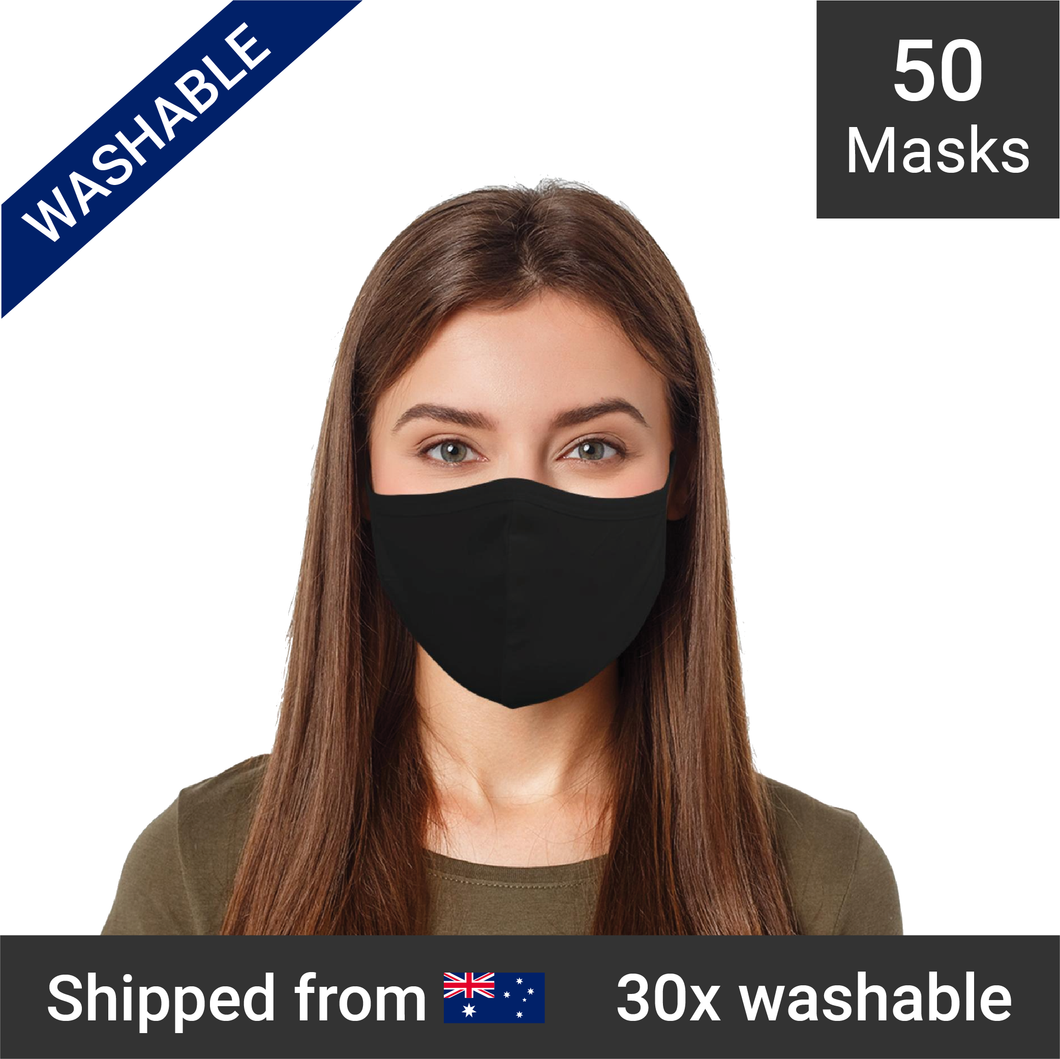 3-ply reusable masks - 50 masks