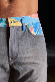 Beach Layer Denim (grey/blue)