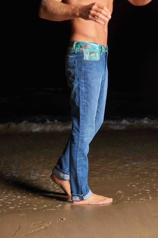 Beach Layer Denim (blue/green)
