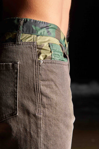 Beach Layer Denim (brown/camo)