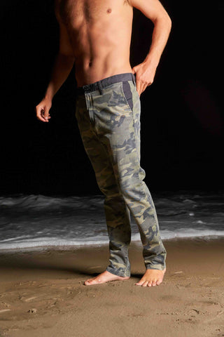 Summer Layer Chino (camo/black)