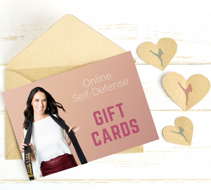 Digital Gift Cards - Online Self-Defense Course ($37-$897)