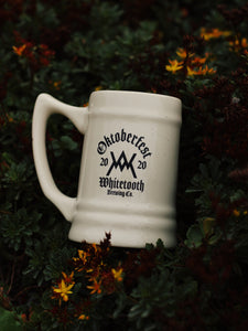 OKTOBERFEST 2020 WHITETOOTH CERAMIC STEIN