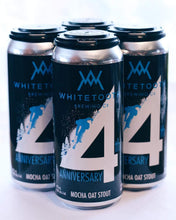 Load image into Gallery viewer, 4th ANNIVERSARY MOCHA OAT STOUT 4 Pack of 473ml Tall Cans