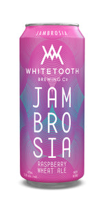 JAMBROSIA RASPBERRY WHEAT ALE Pack of 473ml Tall Cans