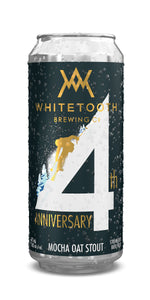 4th ANNIVERSARY MOCHA OAT STOUT 4 Pack of 473ml Tall Cans