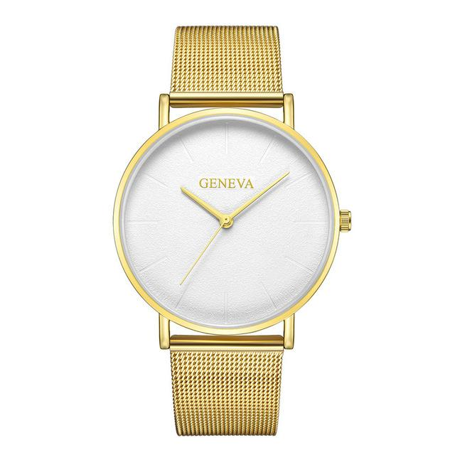2019 Women's watch Bayan Kol Saati fashion gold Rose women's watch silver woman reloj mujer saat relogio zegarek damski