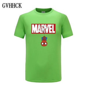 New Summer 3D Iron Spiderman T Shirt Men Marvel Avengers Men T-Shirt Compression Fitness Short Sleeve Brand Tee Shirt Tops&Tees