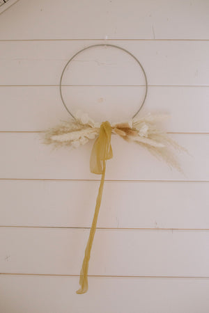 Load image into Gallery viewer, DIY Wreath Kit - Golden Glow - Golden August