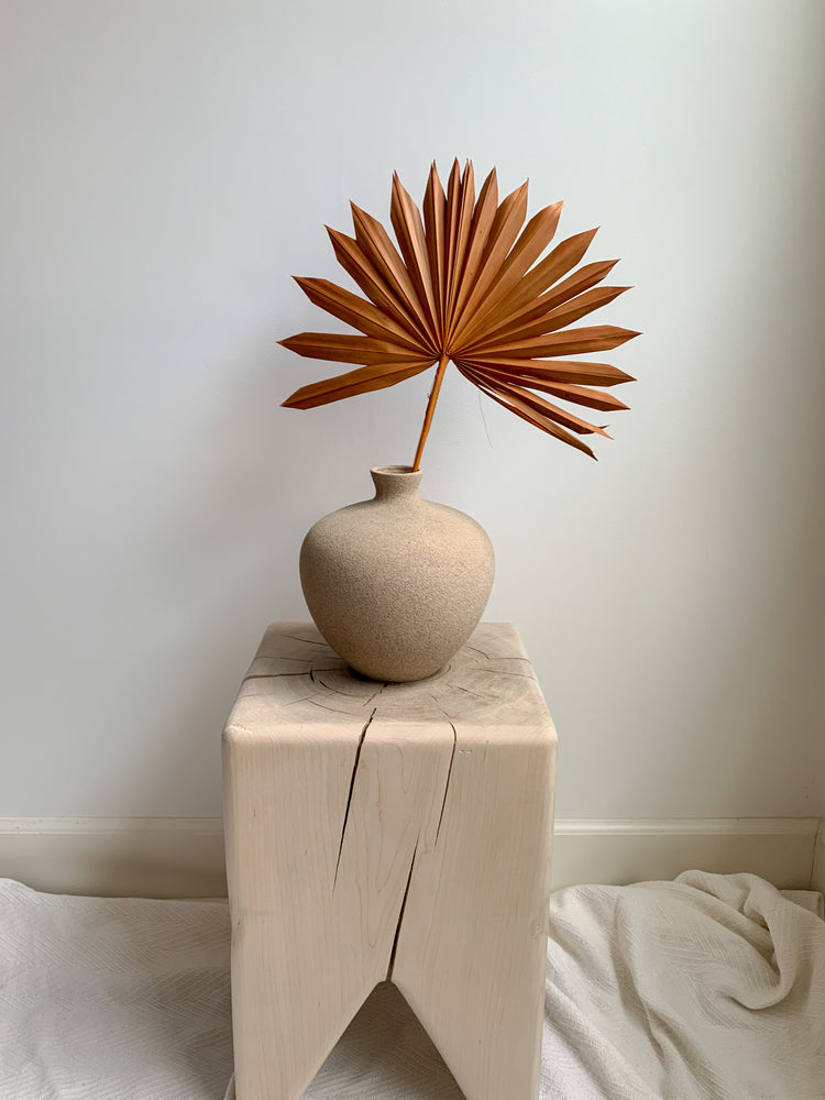 Load image into Gallery viewer, Rusty Orange Natural Palm Sun