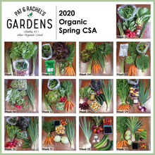 Load image into Gallery viewer, 2021 Spring Organic CSA