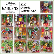 Load image into Gallery viewer, 2021 Summer Organic CSA