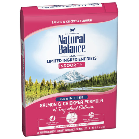 Natural Balance Indoor Cat Limited Ingredient Salmon