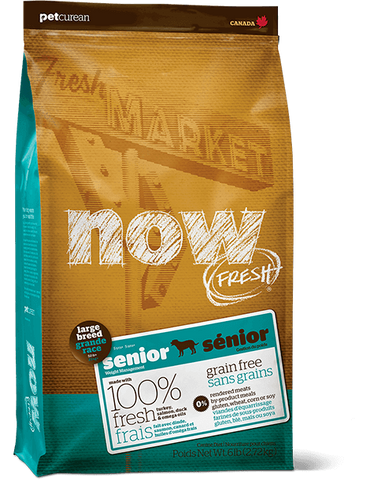Petcurean Now! Large Breed Senior 25 lb