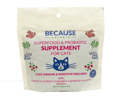 Because Animals, Superfood & Probiotic