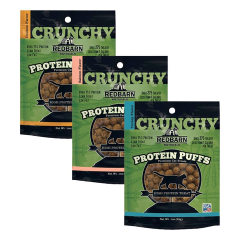 RedBarn Protein Puffs for cats