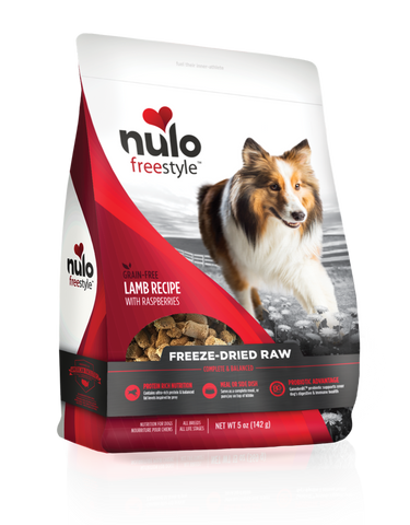 Nulo Freestyle Freeze Dried Lamb with Raspberries