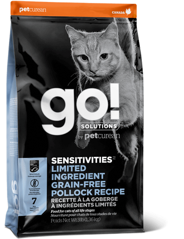 Petcurean GO! Sensitivities Pollock 3 lb