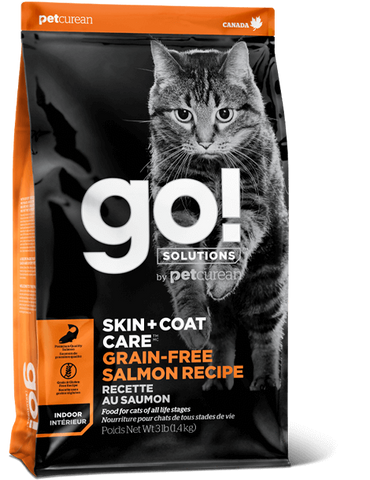 Petcurean GO! Skin & Coat Grain Free Salmon