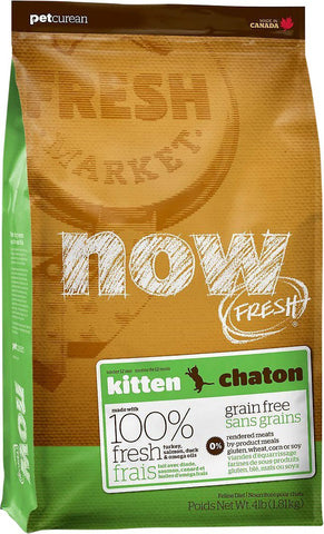 Petcurean Now! Kitten 4 lb