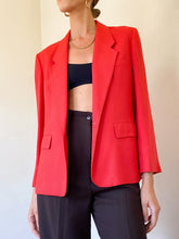Load image into Gallery viewer, Red Blazer (M)