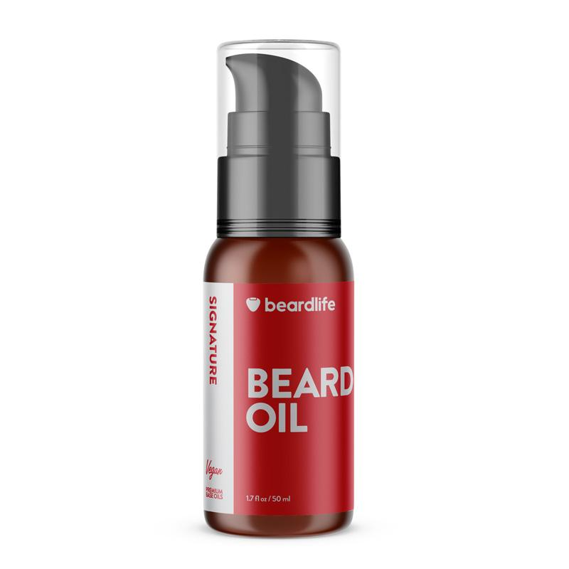 Beardlife Beard Oil Signature Bottle Front