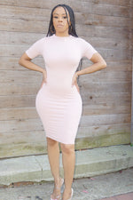 KEEP IT CUTE | SEAMLESS DRESS (LT PINK)