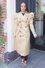 NOT YOUR AVERAGE TRENCH COAT