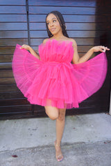 PINK CELEBPRETTY DRESS