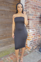 SHE READY | TUBE DRESS (BLACK)