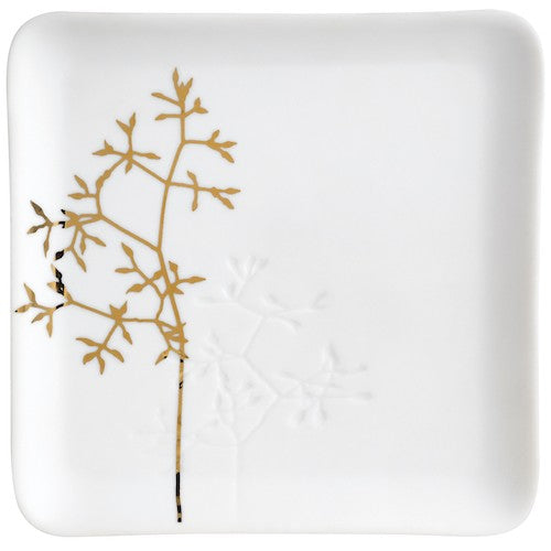 Gold twig plate