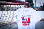Game started in Canada T-Shirt - Infamous Hockey
