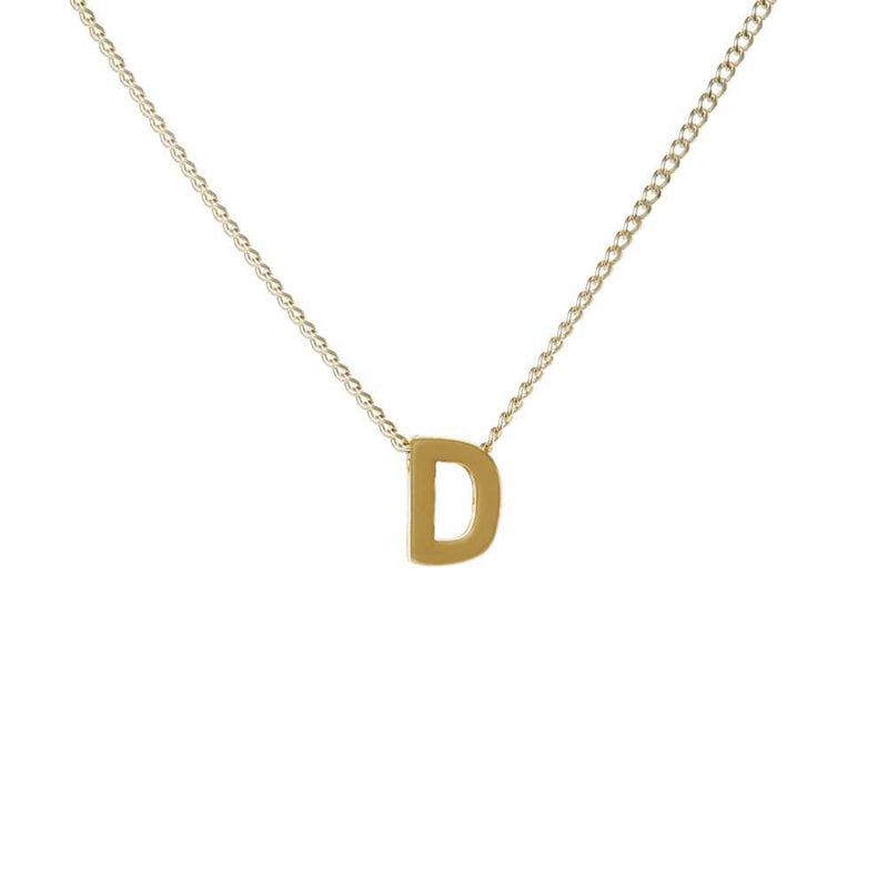 "Personalized Initial Necklace for Moms Letter ""D"""