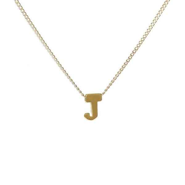 "Personalized Initial Necklace for Moms Letter ""J"""