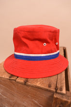 Load image into Gallery viewer, Classic Red Bucket Hat, S