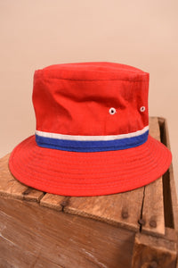 Classic Red Bucket Hat, S