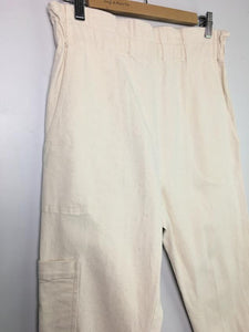 "Cream ""Baja"" cargo pant by Pietsie, Large"
