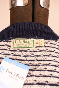 Norwegian Wool Sweater, By LL Bean, M/L