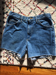 Blue 80s LEE Denim Cutoffs, Lee 31 W
