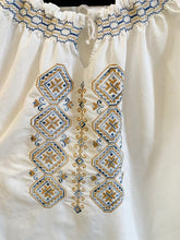Load image into Gallery viewer, 1970s Hungarian peasant blouse, M/L