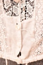 Load image into Gallery viewer, Delicate White Edwardian Shirtwaist,  XS/S