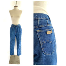 Load image into Gallery viewer, 80s High Waisted Light Wash Jeans, By Gitano, M/L