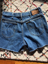 Load image into Gallery viewer, Blue 80s LEE Denim Cutoffs, Lee 31 W