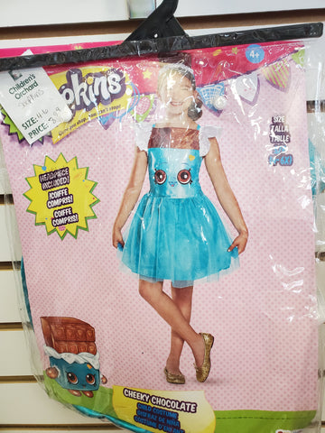 Size 4-6 Shopkins costume