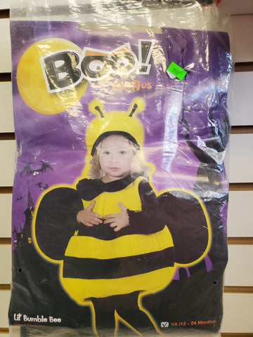 Size 12-24M Bumble Bee costume